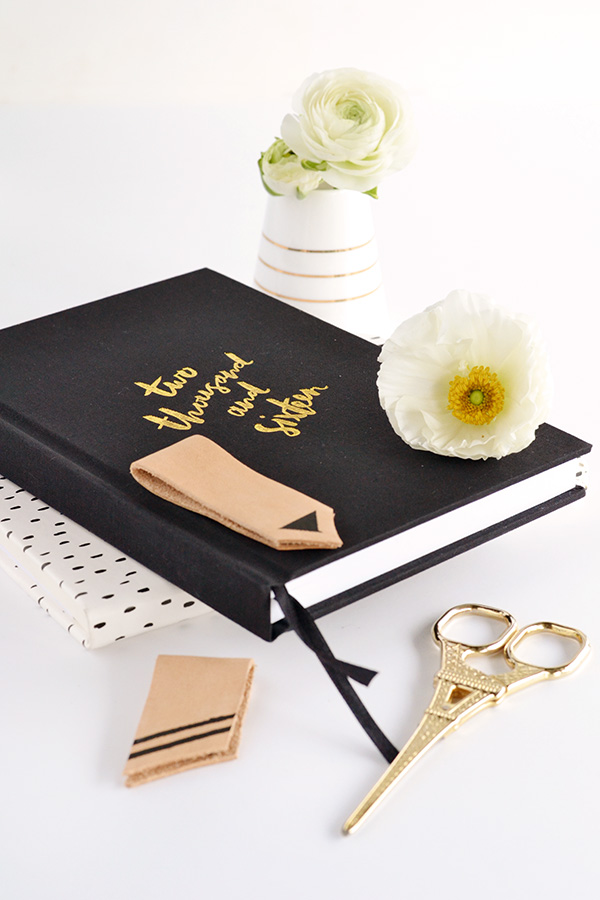 Stylish Yet Simple DIY Leather Magnetic Bookmarks