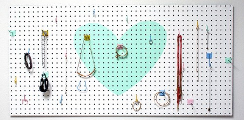 pastel pegboard (via wayfair)