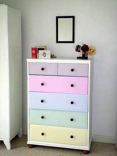 pastel kids' dresser (via shelterness)