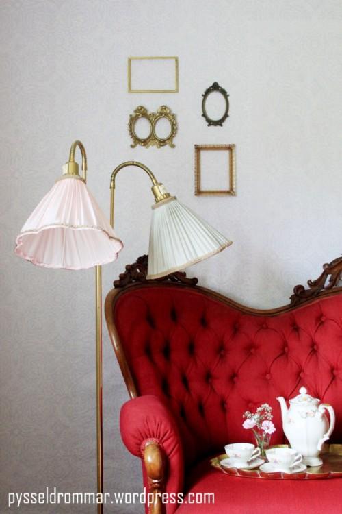 delicate pastel lamps