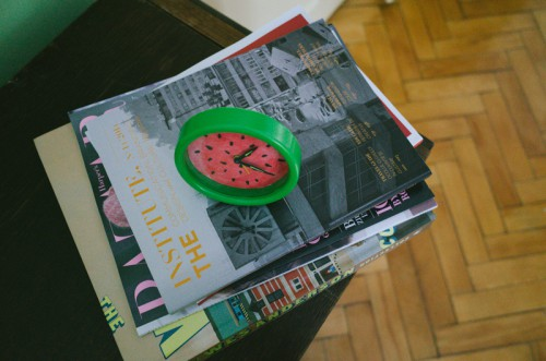 Summer Inspired DIY Watermelon Alarm Clock
