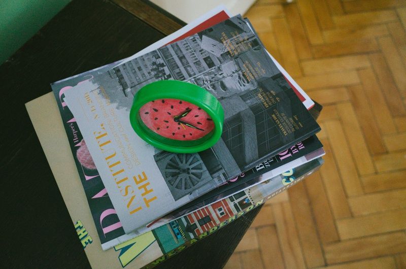 Picture Of summer inspired diy watermelon alarm clock  6