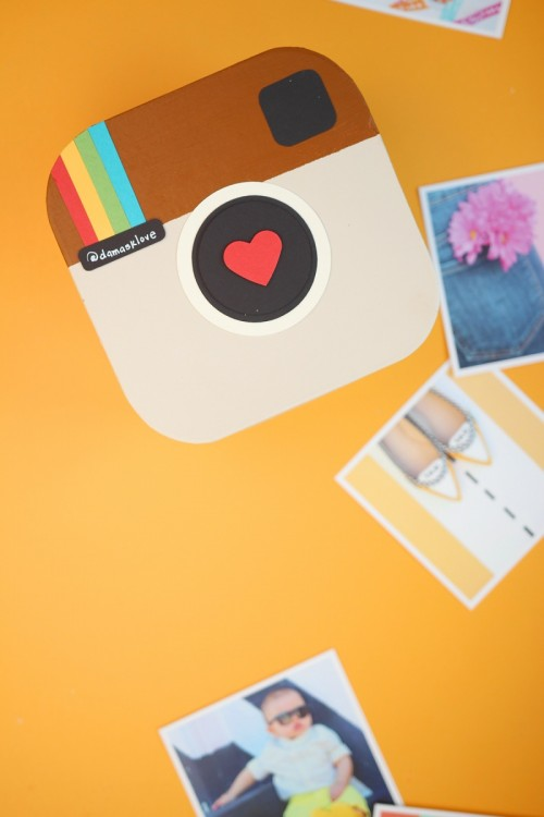 Super Cute And Fun DIY Instagram In A Box