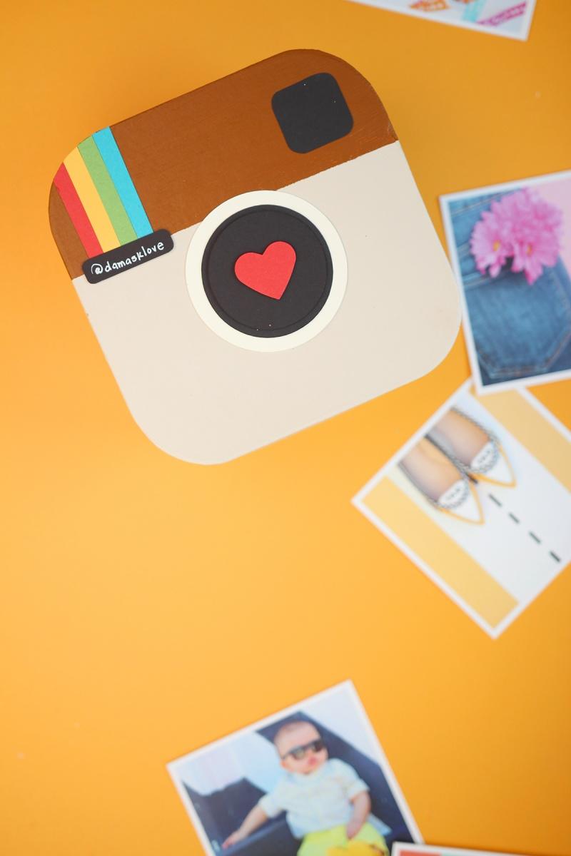 Super Cute And Fun DIY Instagram In A Box