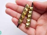 pyramid stud hairpins