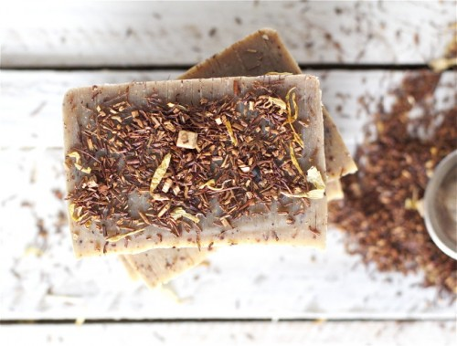 pecan rooibos soap (via offbeatandinspired)