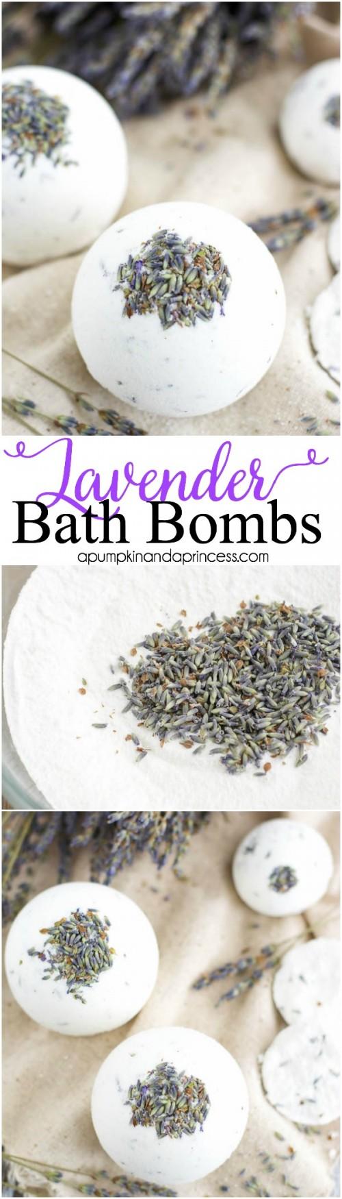 lavender bath bombs (via apumpkinandaprincess)