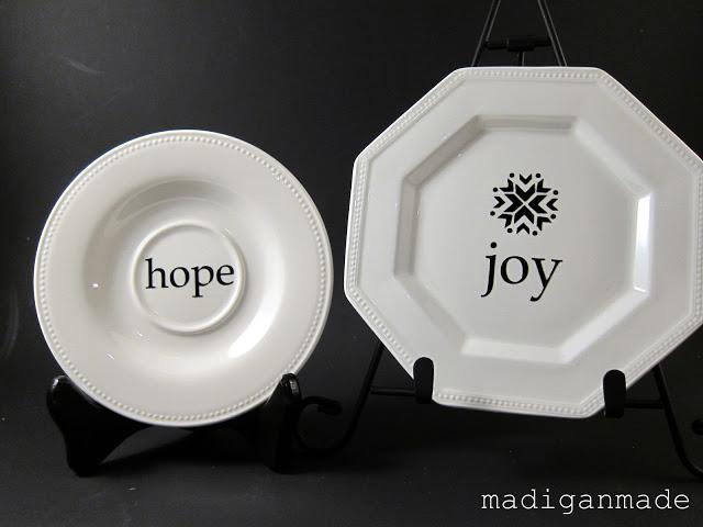 decorative holiday plates