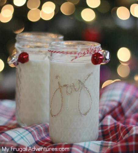 holiday candles (via myfrugaladventures)