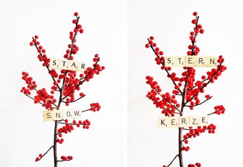 Super Easy DIY Scrabble Christmas Ornaments