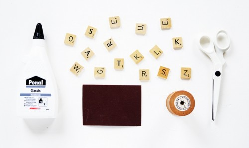 Super Easy DIY Scrabble Christmas Ornaments