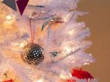 silver thumbtack ornament