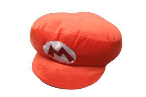 Super Mario Bros Hat Pillow