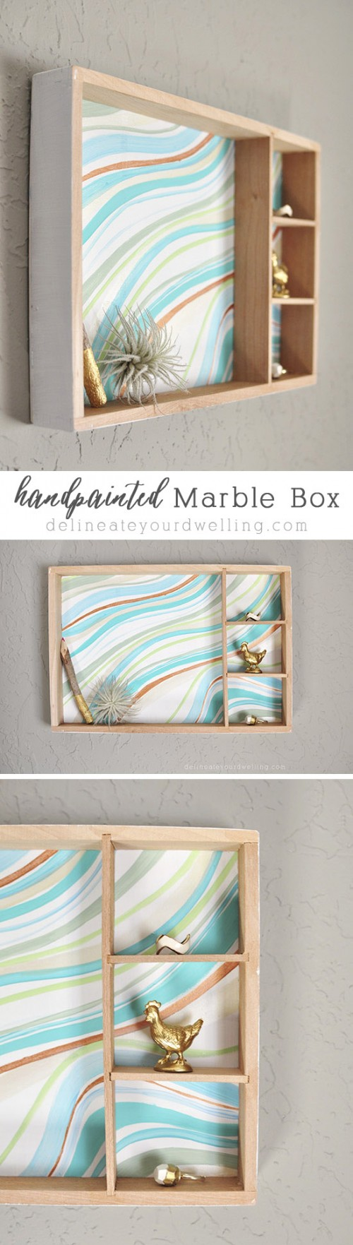 23 super trendy diy marble crafts for home décor - shelterness