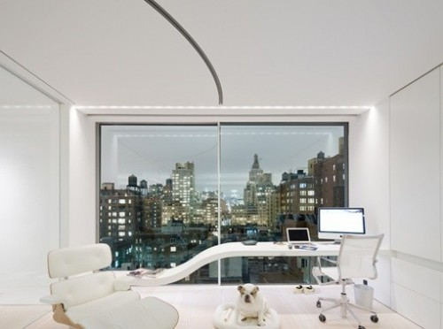 Super White Loft Interior