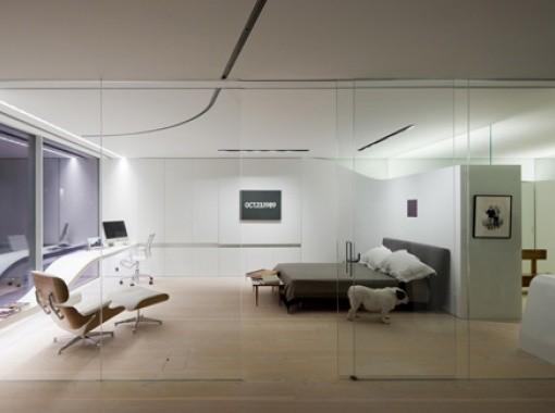 Super White Loft Interior