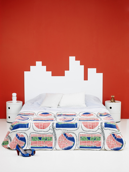 Super Mario Headboard To Make Your Bedroom Geeky