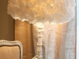 coffee filter lampshade