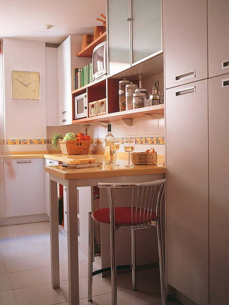 Table As A Part Of Cupboard