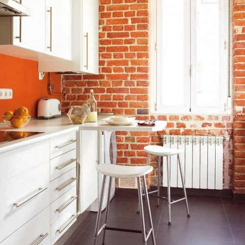30 Space Saving Solutions For Small Kitchens