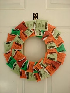 Tea Bags Wreaths