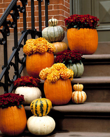 Thaksgiving Front Porch Decorating Ideas