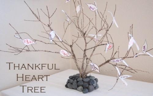 Thankful Heart Tree