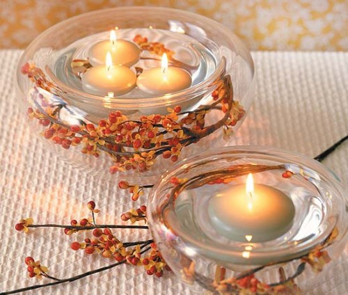 Fall Wedding Ideas Table Decorations: 50 Thanksgiving Candle Display Ideas