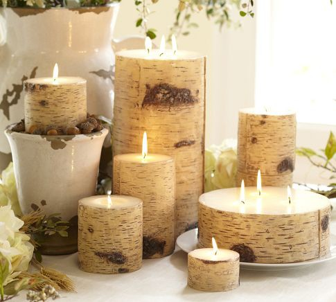 50 thanksgiving candle display ideas shelterness for Christmas candle displays
