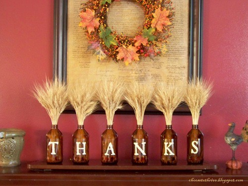 Thanksgiving Mantel Decorating Ideas