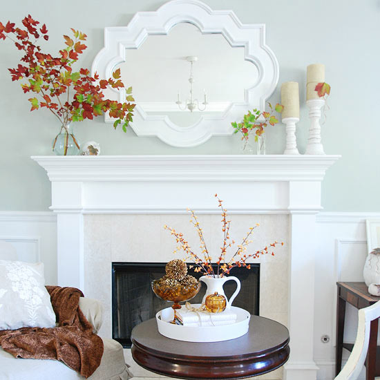 45 great thanksgiving mantel decorating ideas photo 33