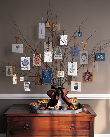 Thanksgiving Tree With Cards