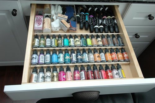 The Best Crafts Room Organization