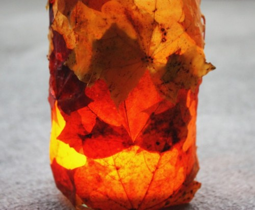 The Simplest Diy Fall Lantern Ever