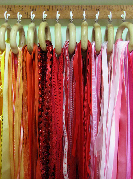 The Ultimate DIY Ribbon Organizer