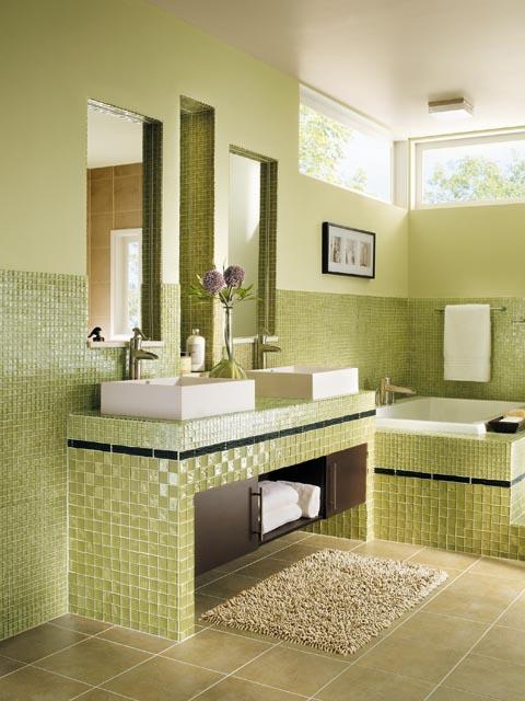 Http Www Shelterness Com 33 Bathroom Tile Decorating Ideas