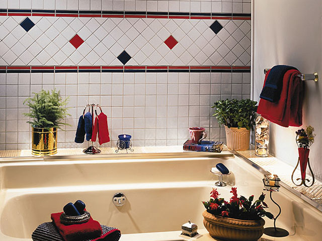 picture of tiles for bathroom decorating