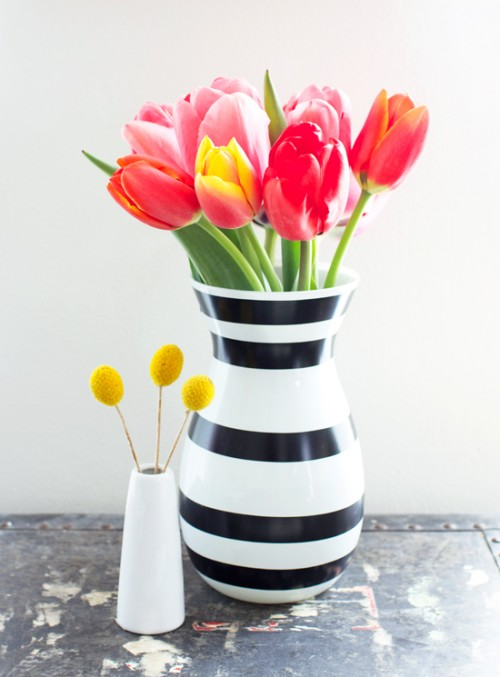 15 Timeless DIY Striped Crafts For You Home Décor