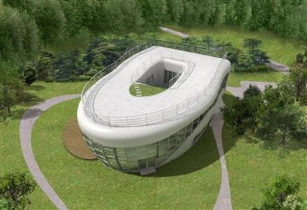 Toilet-Shaped House