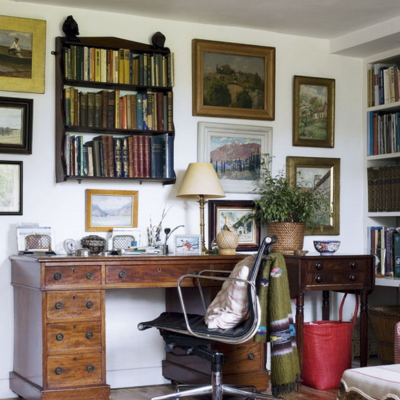 Picture of traditional home office designs - Traditional home office design ...
