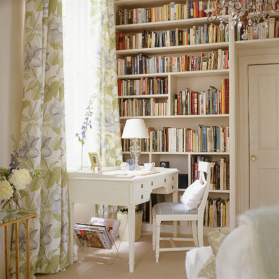 Popular And Romantic Feel To Your Home Office Design In Vintage Style Antique
