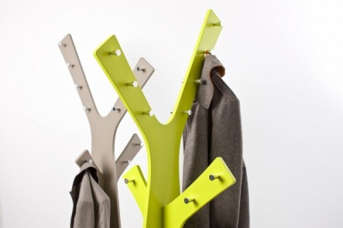 Nature Inspired Coat Rack and Wall Hooks