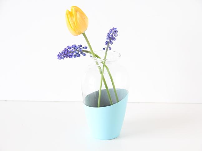 color block vase