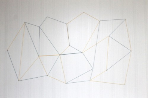 Trendy DIY Geometric Wall Display