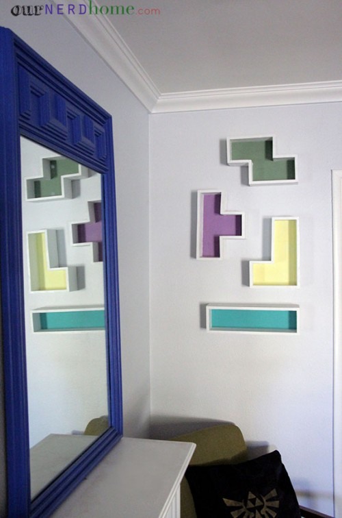 geo tetris shelves (via ournerdhome)