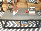 big industiral coffee table