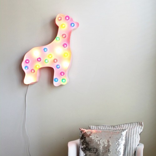 animal cookie marquee light (via ajoyfulriot)