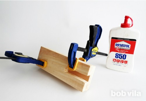 Trendy DIY Ombre Desk Organizer To Make