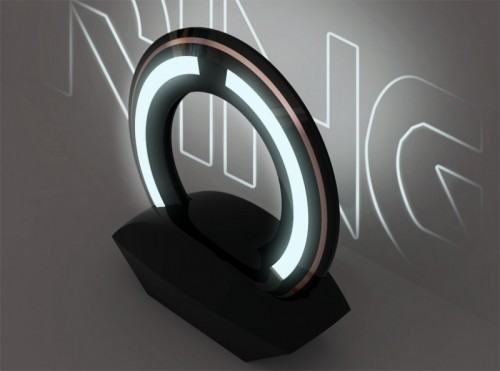 Tron Ring Lamp