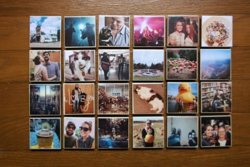 Turn Your Fridge Into A Gallery: 10 DIY Photo Magnets Tutorials